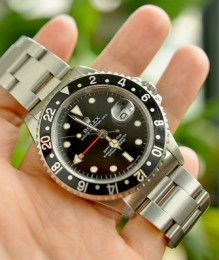 Đồng hồ Rolex GMT Master 40mm 16700 Stainless Steel Black