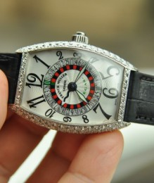 Đồng hồ Franck Muller Vegas 18K White Gold Diamond Like New