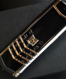 Điện thoại Vertu Signature S Rose Gold Mixed Metal new 100%