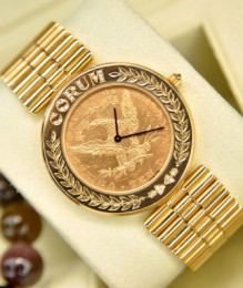 Đồng hồ Corum Gold Coin 25th Anniversary 1964 to 1989 limited edition 08/25