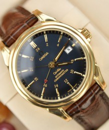 Đồng hồ Omega DeVille Co-Axial Chronometer 4633.80.33 size 38.7mm GMT