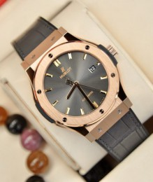 Đồng hồ Hublot 542.OX.7081.LR Classic Fusion Grey King Gold Rose 18k